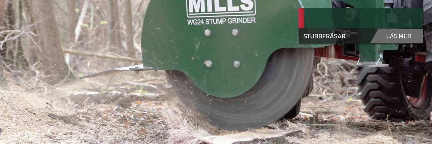 WG24 Stump Grinder