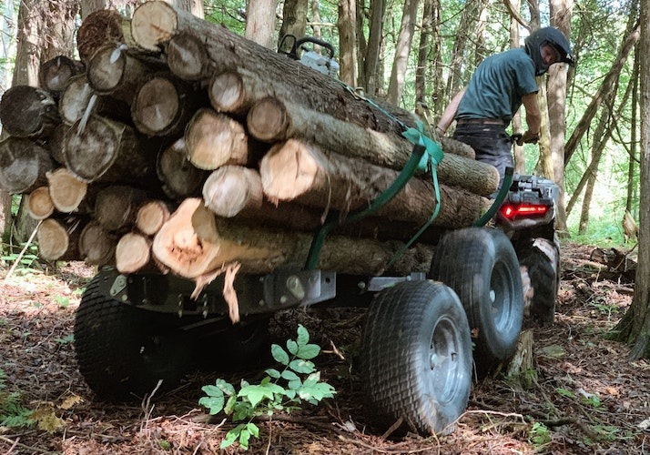 Multilander™ Logging Trailer Take the Adventurous Path