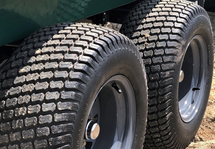 Multilander™ Logging Trailer Off-Road Commercial Grade Tires