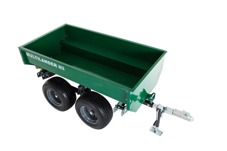 Multilander™ Logging Trailer with Utility Box Impressive Look & Detail
