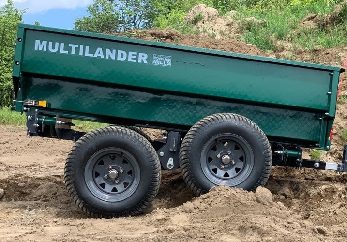 Multilander™ Logging Trailer with Utility Box Take the Adventurous Path