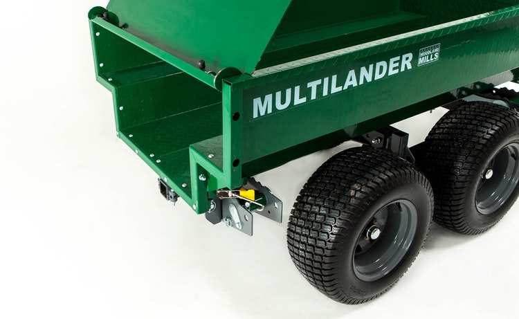 Multilander™ Logging Trailer with Utility Box Hinging & Removable Tailgate