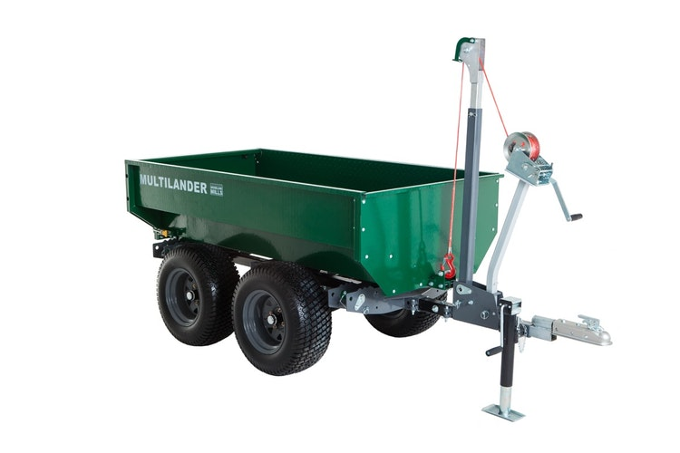 Multilander™ Logging Trailer with Utility Dump Box Product Description