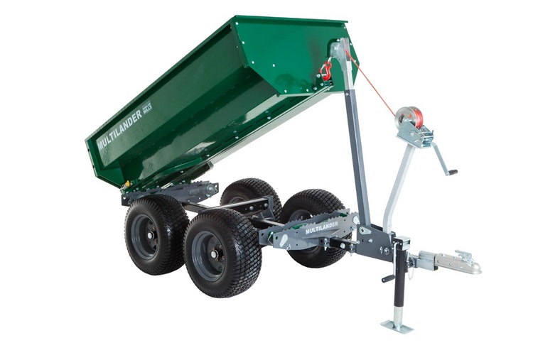 Multilander™ Logging Trailer with Utility Dump Box Impressive Look & Detail