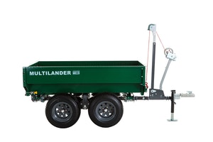 Multilander™ Logging Trailer with Utility Dump Box Image 2