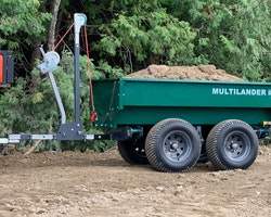 Multilander™ Logging Trailer with Utility Dump Box Image 20