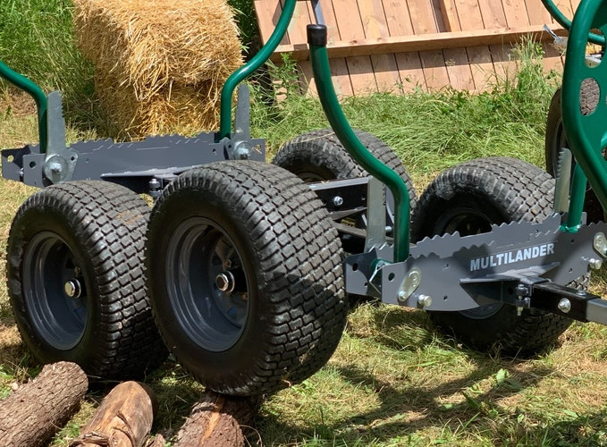 Multilander™ PRO Logging Trailer Take the Adventurous Path