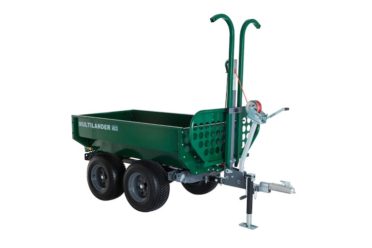 Multilander™ PRO Logging Trailer with Utility Dump Box Product Description