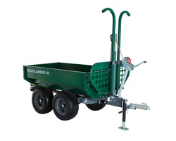 Multilander™ PRO Logging Trailer with Utility Dump Box Image 1
