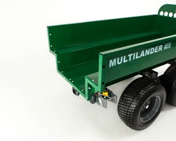 Multilander™ PRO Logging Trailer with Utility Dump Box Image 14