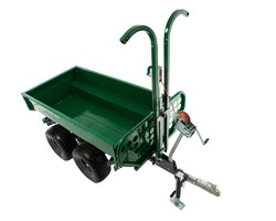 Multilander™ PRO Logging Trailer with Utility Dump Box Image 3
