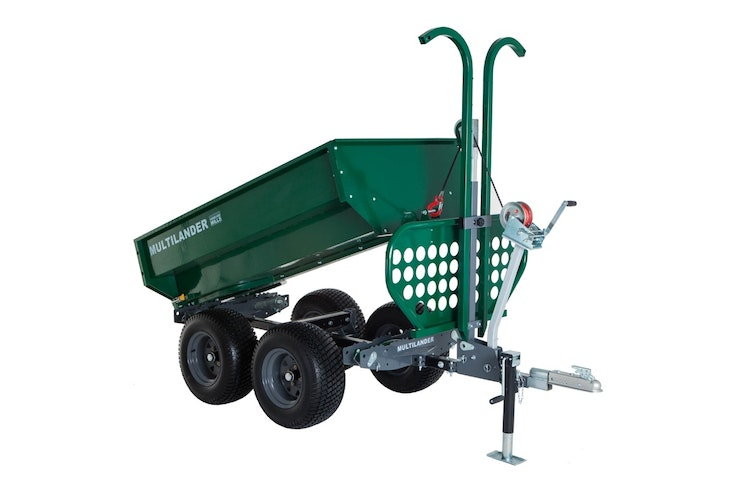Multilander™ PRO Logging Trailer with Utility Dump Box Impressive Look & Detail