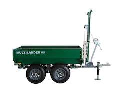 Multilander™ PRO Logging Trailer with Utility Dump Box Image 2