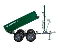 Multilander™ PRO Logging Trailer with Utility Dump Box Image 7