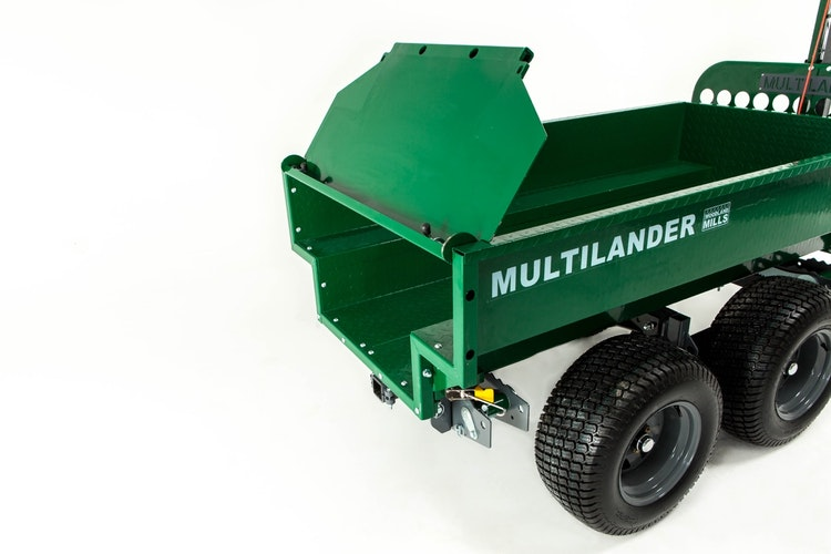 Multilander™ PRO Logging Trailer with Utility Dump Box Hinging & Removable Tailgate