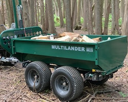 Multilander™ PRO Logging Trailer with Utility Dump Box Image 19