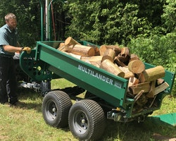 Multilander™ PRO Logging Trailer with Utility Dump Box Image 21