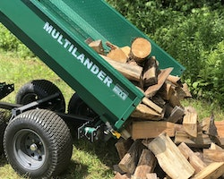 Multilander™ PRO Logging Trailer with Utility Dump Box Image 18