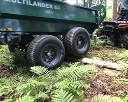 Multilander™ PRO Logging Trailer with Utility Dump Box Image 17