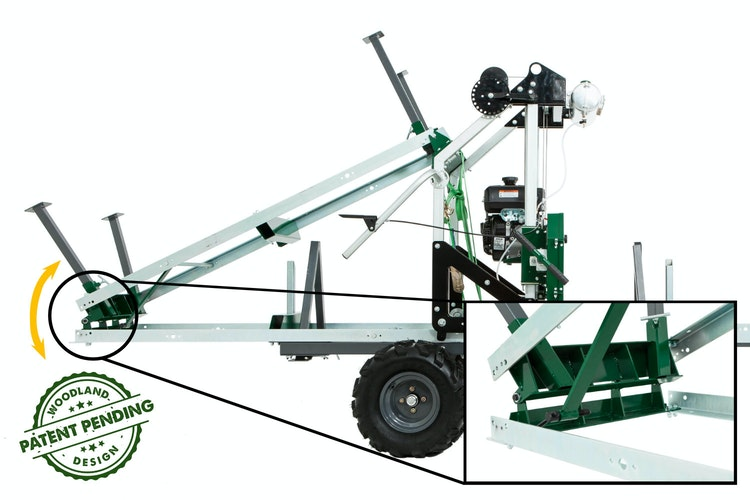 HM122 Bushlander™ PATENT PENDING FOLDING TRAILER EXTENSION