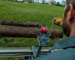 Woodlander Log Loading Ramp & Winch Kit Image 8
