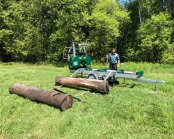 Woodlander Log Loading Ramp & Winch Kit Image 5