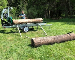 Woodlander Log Loading Ramp & Winch Kit Image 6