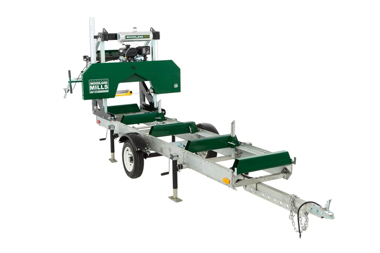 HM126 Portable Sawmill GO MOBILE WITH WOODLANDER™