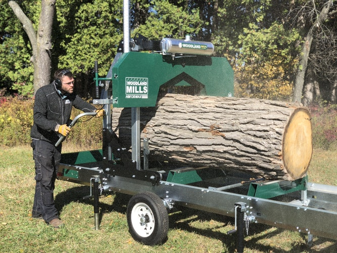 HM130MAX Portable Sawmill GO MOBILE WITH WOODLANDER™