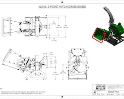 WC46 4″ PTO Wood Chipper Image 21