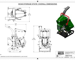 "WC46 4"" PTO Wood Chipper Image 19"