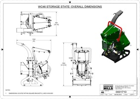 WC46 4″ PTO Wood Chipper Image 19