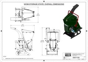 WC68 6″ PTO Wood Chipper Image 16