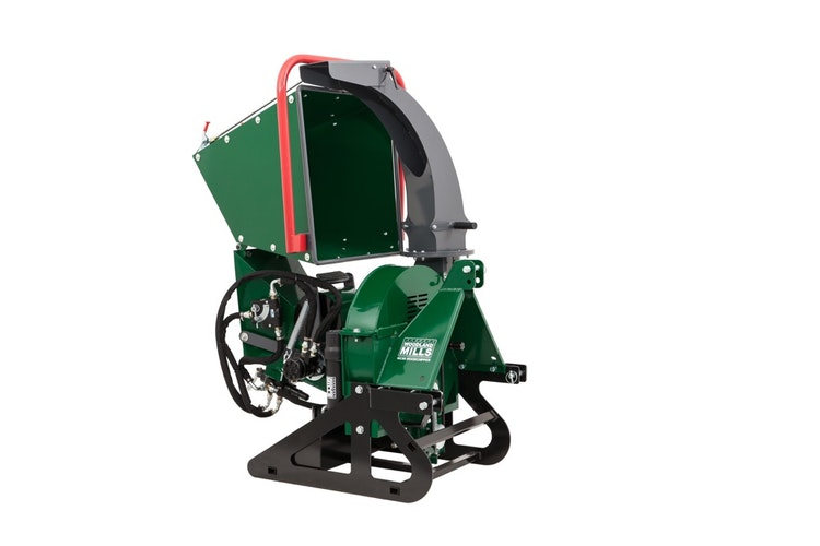 WC68 6″ PTO Wood Chipper Folding Infeed Chute