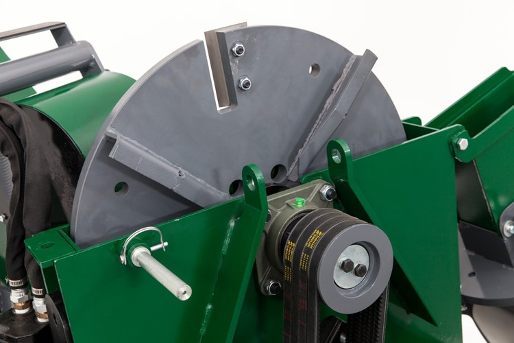 WC88 8″ PTO Wood Chipper Flywheel