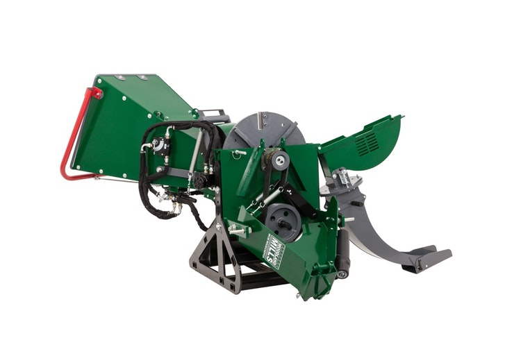 WC88 8″ PTO Wood Chipper Drive Belt System