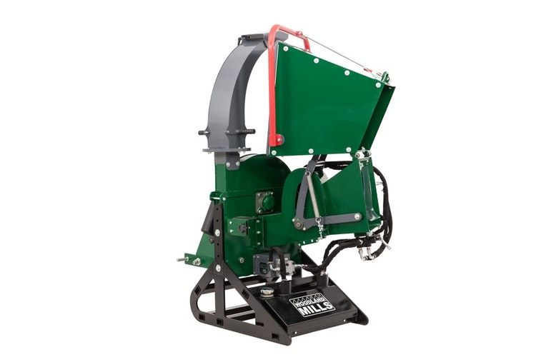 WC88 8″ PTO Wood Chipper Folding Infeed Chute