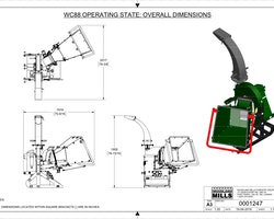 WC88 8″ PTO Wood Chipper Image 21