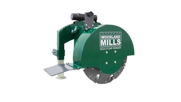 WG24 Stump Grinder Product Description