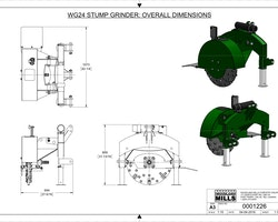 WG24 Stump Grinder Image 12